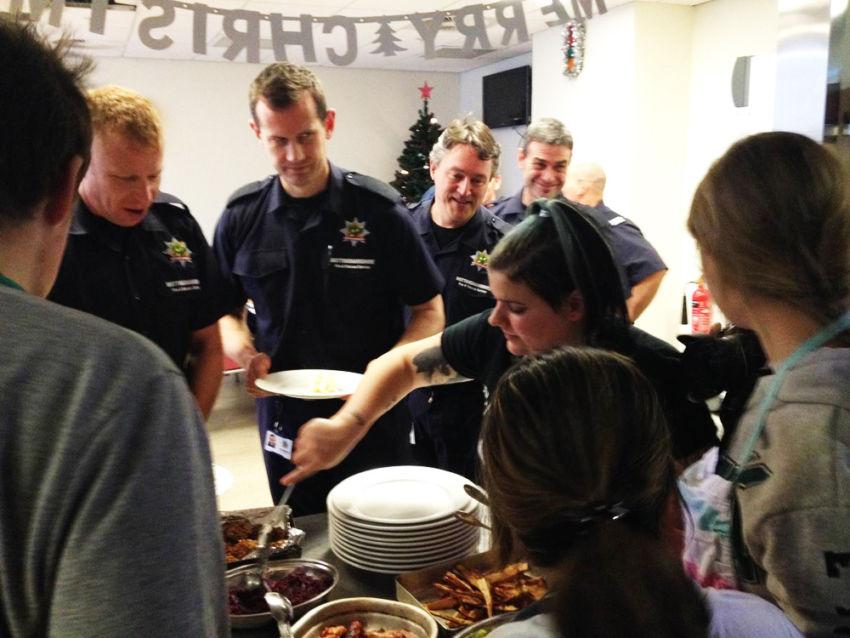 Fire Station Dinner