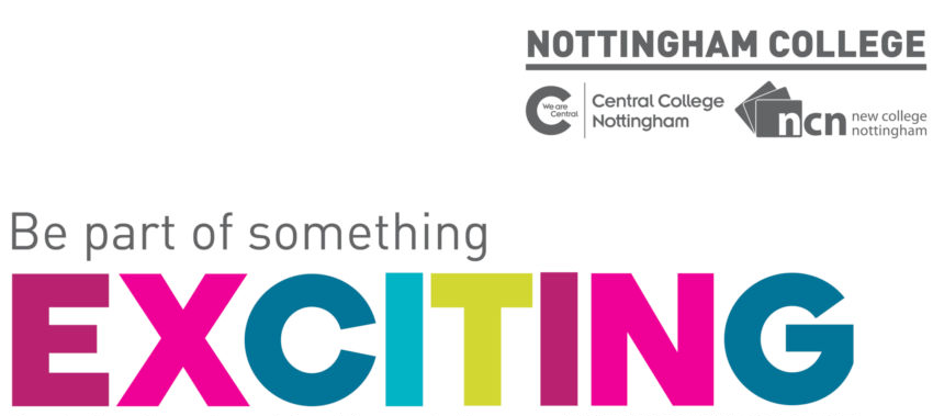 Nottingham College Exciting Without Tagline