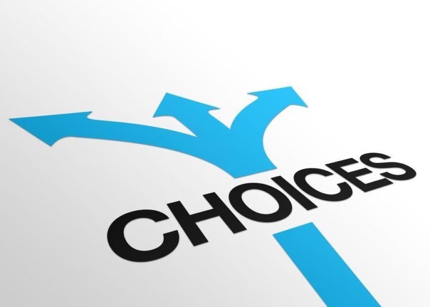 Choices Crossroads Arrows